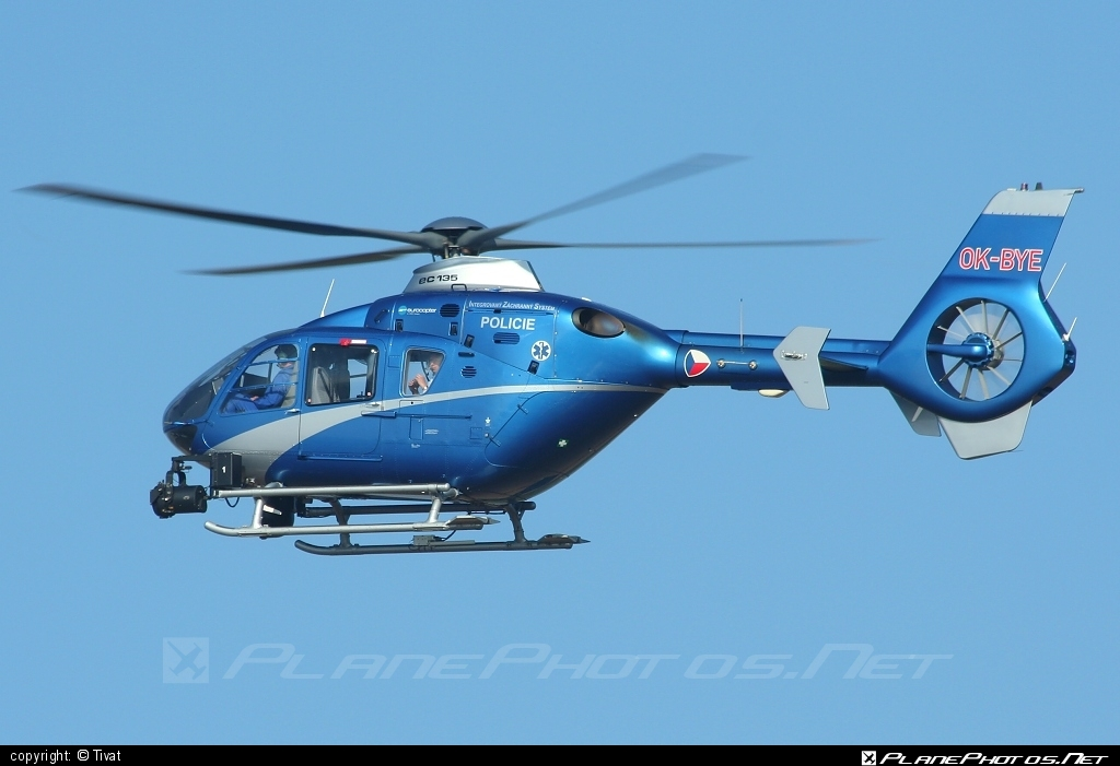 Eurocopter EC135 T2 - OK-BYE operated by Policie ČR (Czech Police) #czechpolice #ec135 #ec135t2 #eurocopter #policiecr