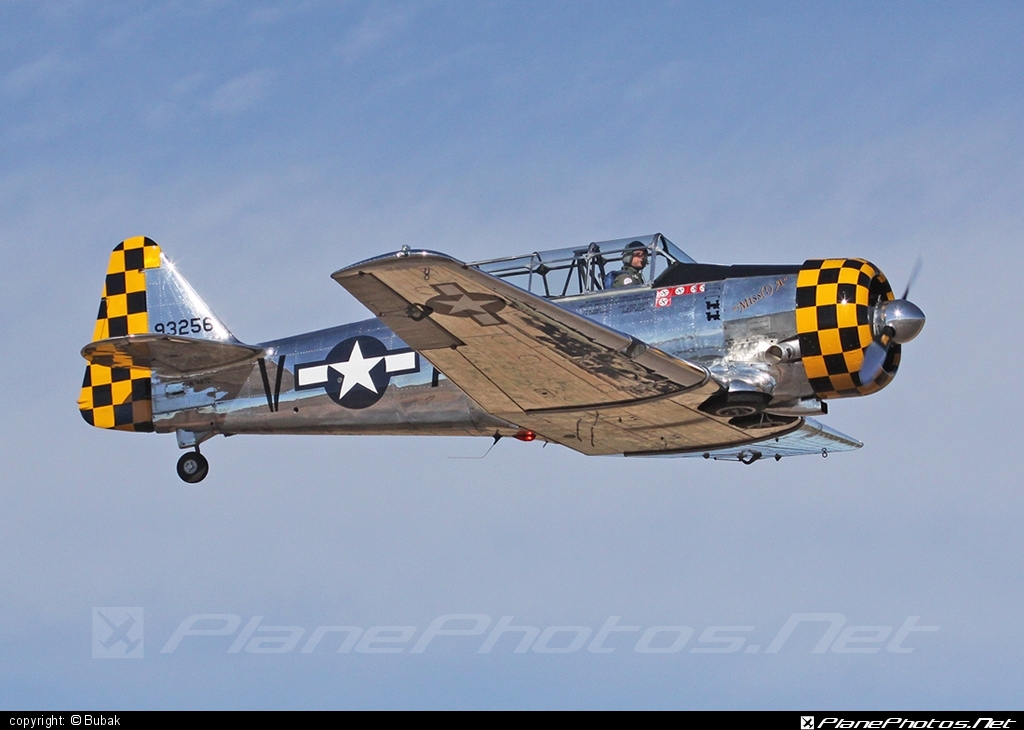 North American T-6G Texan - N7487C operated by Private operator #northamerican
