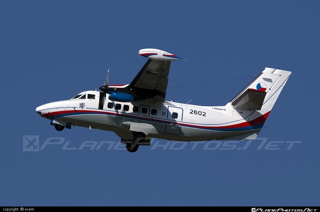 Let L-410UVP-E Turbolet - 2602 operated by Vzdušné síly AČR (Czech Air Force) #czechairforce #let #vzdusnesilyacr