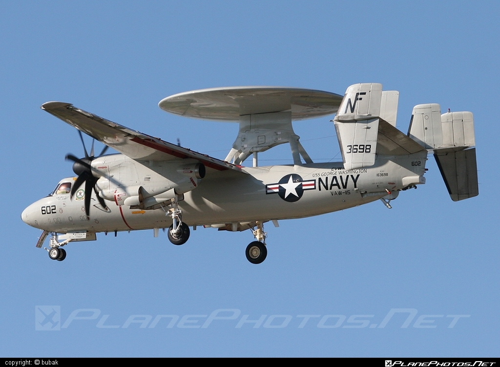 Grumman E-2C Hawkeye - 163698 operated by US Navy (USN) #grumman