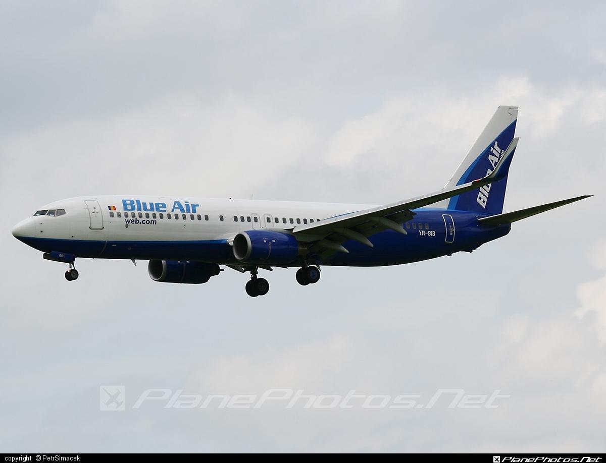 Boeing 737-800 - YR-BIB operated by Blue Air #b737 #b737nextgen #b737ng #boeing #boeing737