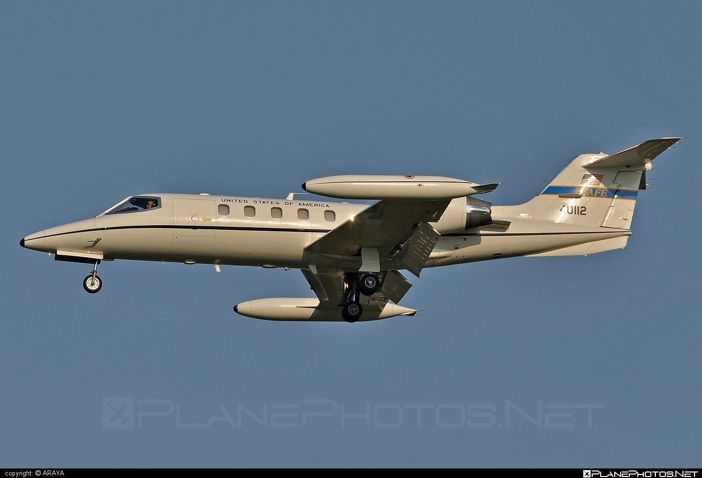 Gates Learjet C-21A - 84-0112 operated by US Air Force (USAF) #c21a #gateslearjet #learjet #learjet35 #learjetc21a #usaf #usairforce