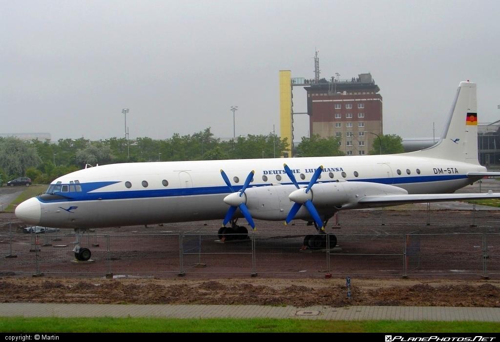 Ilyushin Il-18V - DM-STA operated by Lufthansa #il18 #il18v #ilyushin #lufthansa