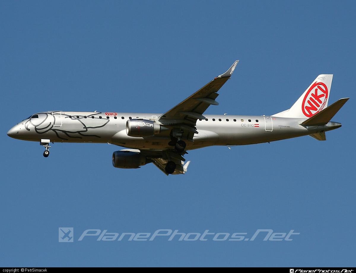Embraer E190LR (ERJ-190-100LR) - OE-IHC operated by Niki #e190 #e190100 #e190100lr #e190lr #embraer #embraer190 #embraer190100lr #embraer190lr #flyniki #niki