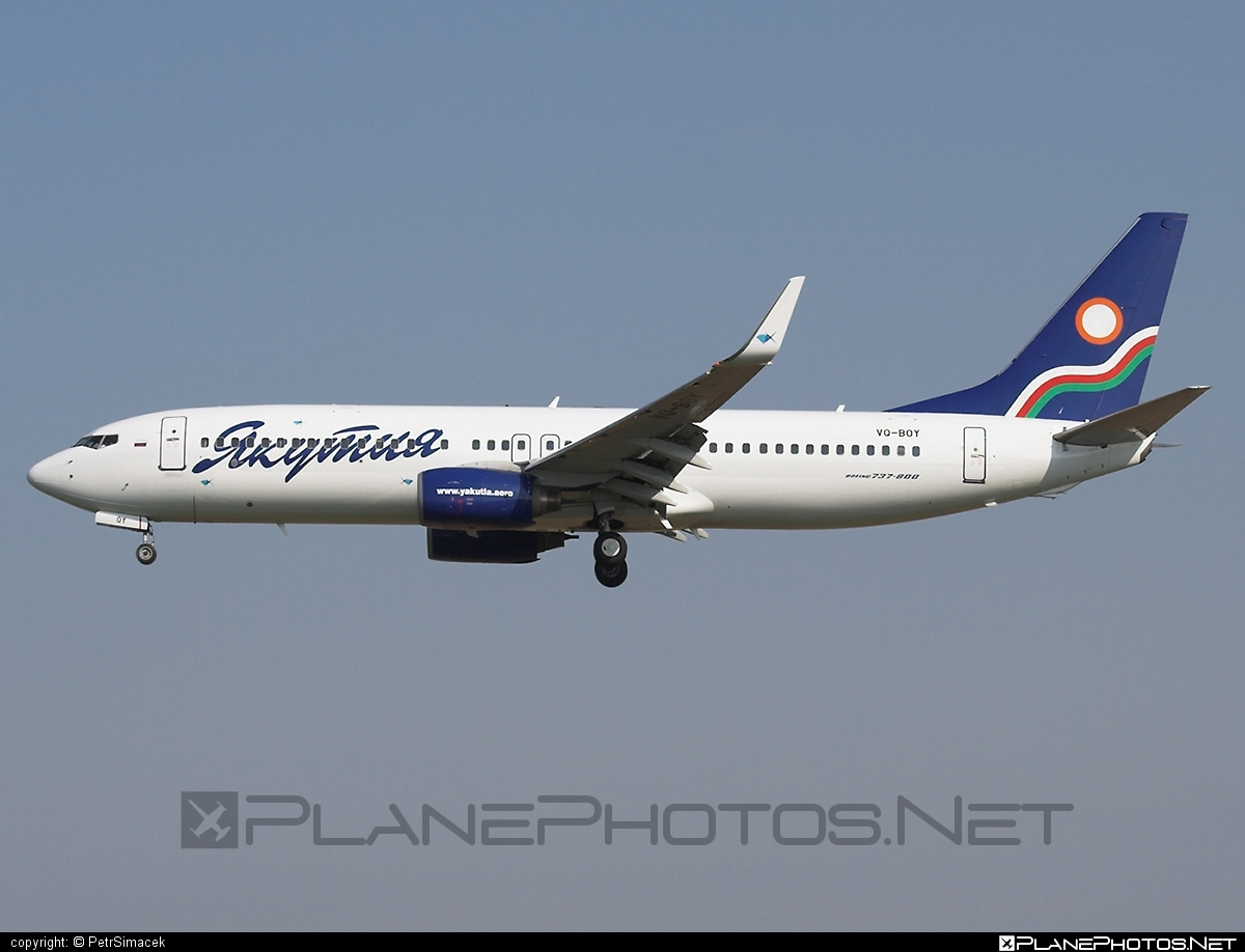Boeing 737-800 - VQ-BOY operated by Yakutia Airlines #b737 #b737nextgen #b737ng #boeing #boeing737