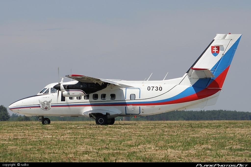 Let L-410UVP-S Turbolet - 0730 operated by Vzdušné sily OS SR (Slovak Air Force) #let #slovakairforce #vzdusnesilyossr