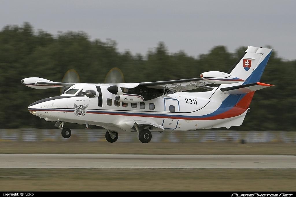 Let L-410UVP-E Turbolet - 2311 operated by Vzdušné sily OS SR (Slovak Air Force) #L410 #L410Turbolet #L410uvpe #L410uvpeTurbolet #let #slovakairforce #turbolet #vzdusnesilyossr