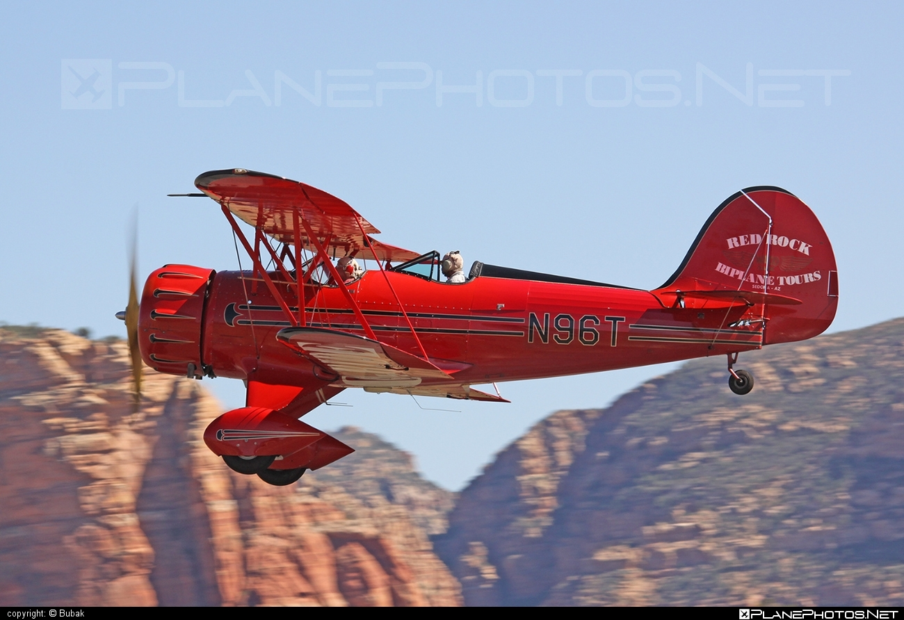 Waco YMF-5 - N96T operated by Private operator #waco
