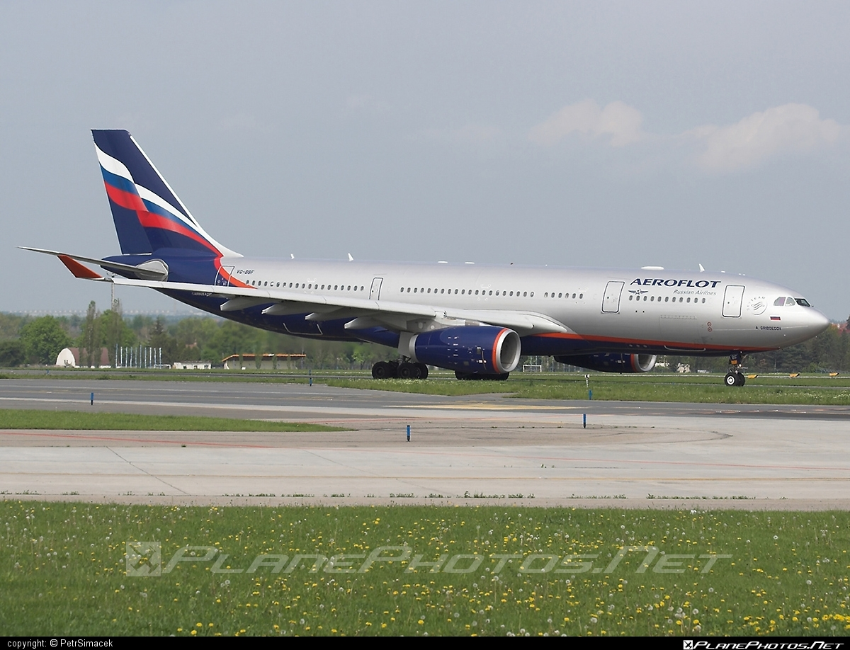 Airbus A330-243 - VQ-BBF operated by Aeroflot #a330 #a330family #aeroflot #airbus #airbus330