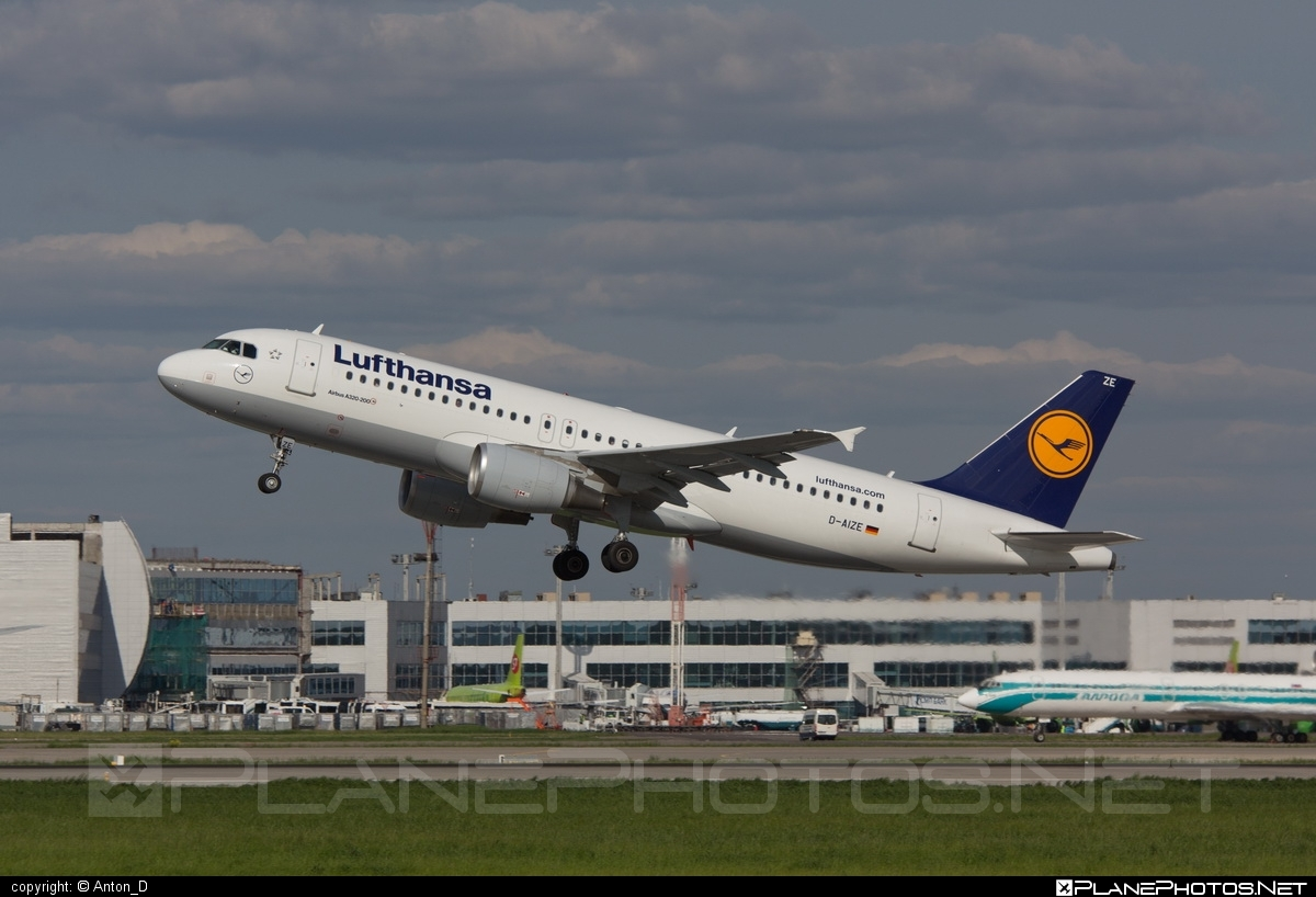 Airbus A320-214 - D-AIZE operated by Lufthansa #a320 #a320family #airbus #airbus320 #lufthansa