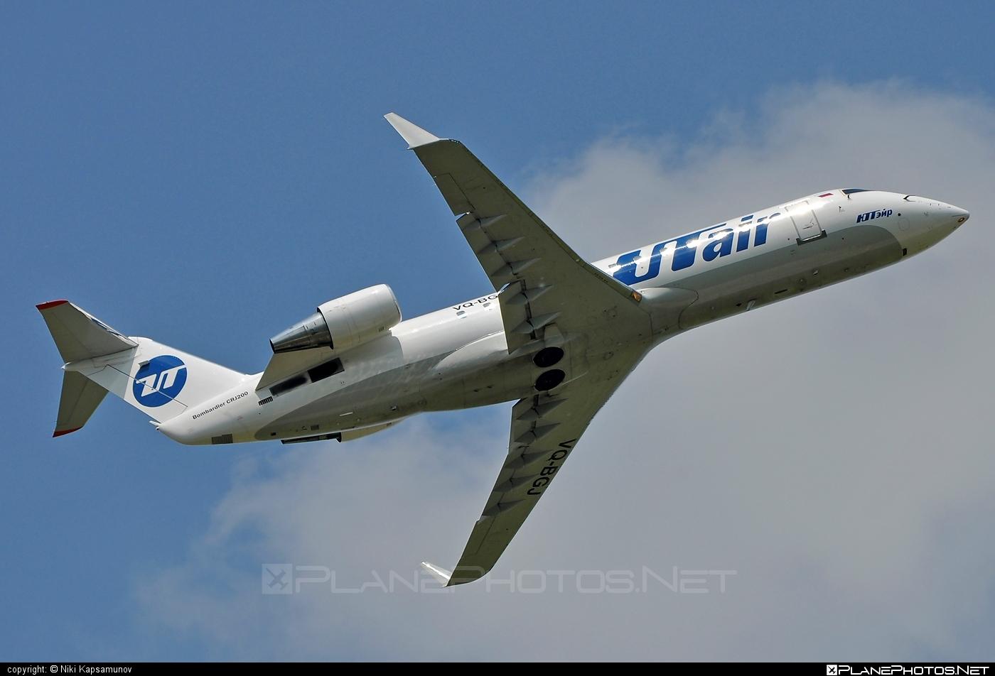 Bombardier CRJ200LR - VQ-BGJ operated by UTair Aviation #bombardier #crj200 #crj200lr #utair #utairaviation