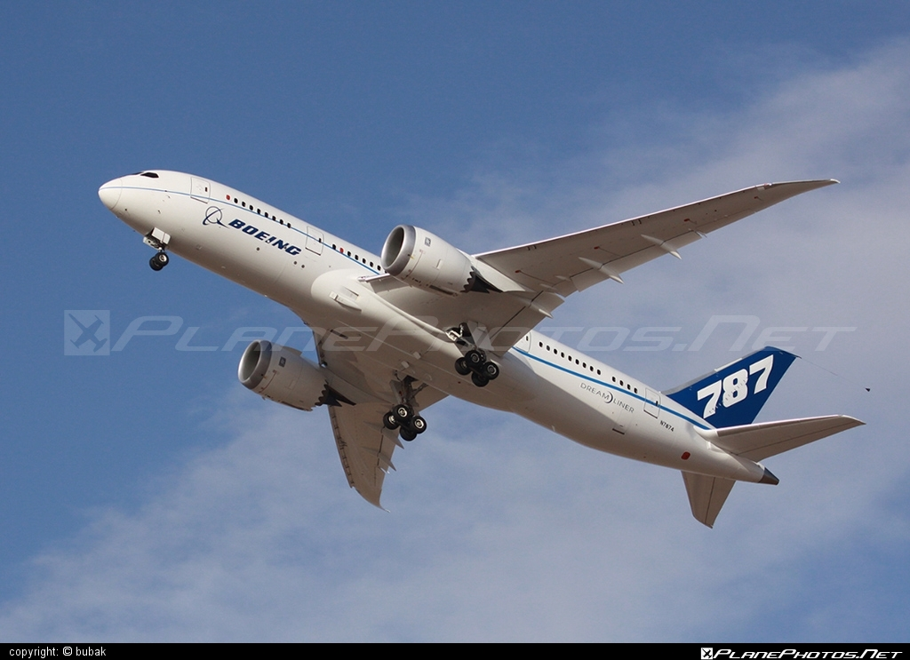 Boeing 787-8 Dreamliner - N7874 operated by Boeing Company #b787 #boeing #boeing787 #dreamliner
