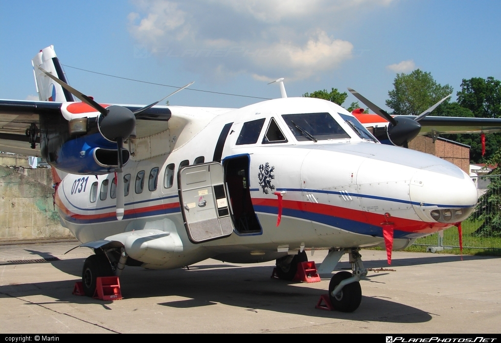 Let L-410UVP Turbolet - 0731 operated by Centrum leteckého výcviku (Flight Training Center) #L410 #L410Turbolet #L410uvp #L410uvpTurbolet #let #turbolet