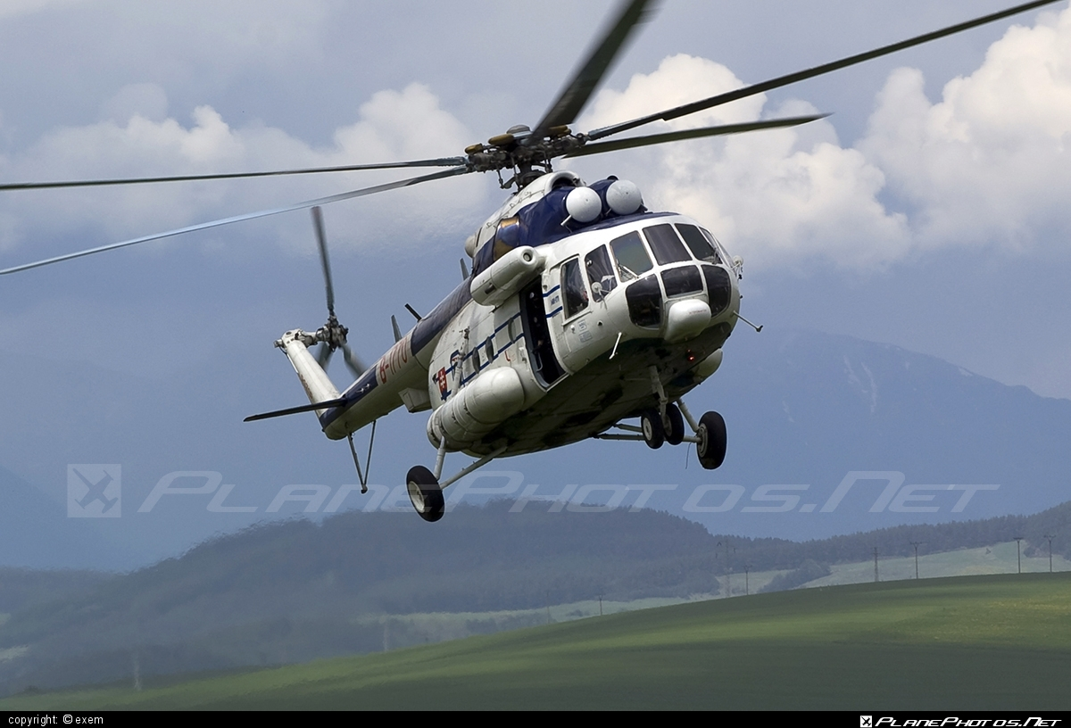 Mil Mi-171 - B-1770 operated by Letecký útvar MV SR (Slovak Government Flying Service) #SlovakGovernmentFlyingService #leteckyutvarMVSR #mi171 #mil #mil171 #milhelicopters