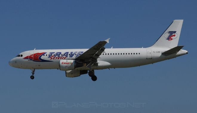 Travel Service Airbus A320-211 - YL-LCE