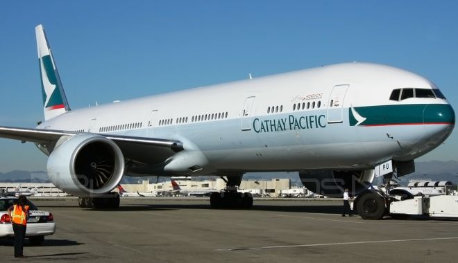 Cathay Pacific Airways Boeing 777-300ER - B-KPU