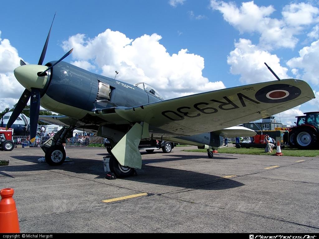 Hawker Sea Fury FB.11 - VR930 operated by United Kingdom - Royal Navy Historic Flight #hawker