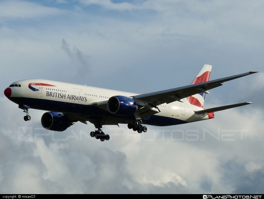 Boeing 777-200ER - G-VIIT operated by British Airways #b777 #b777er #boeing #boeing777 #britishairways #tripleseven