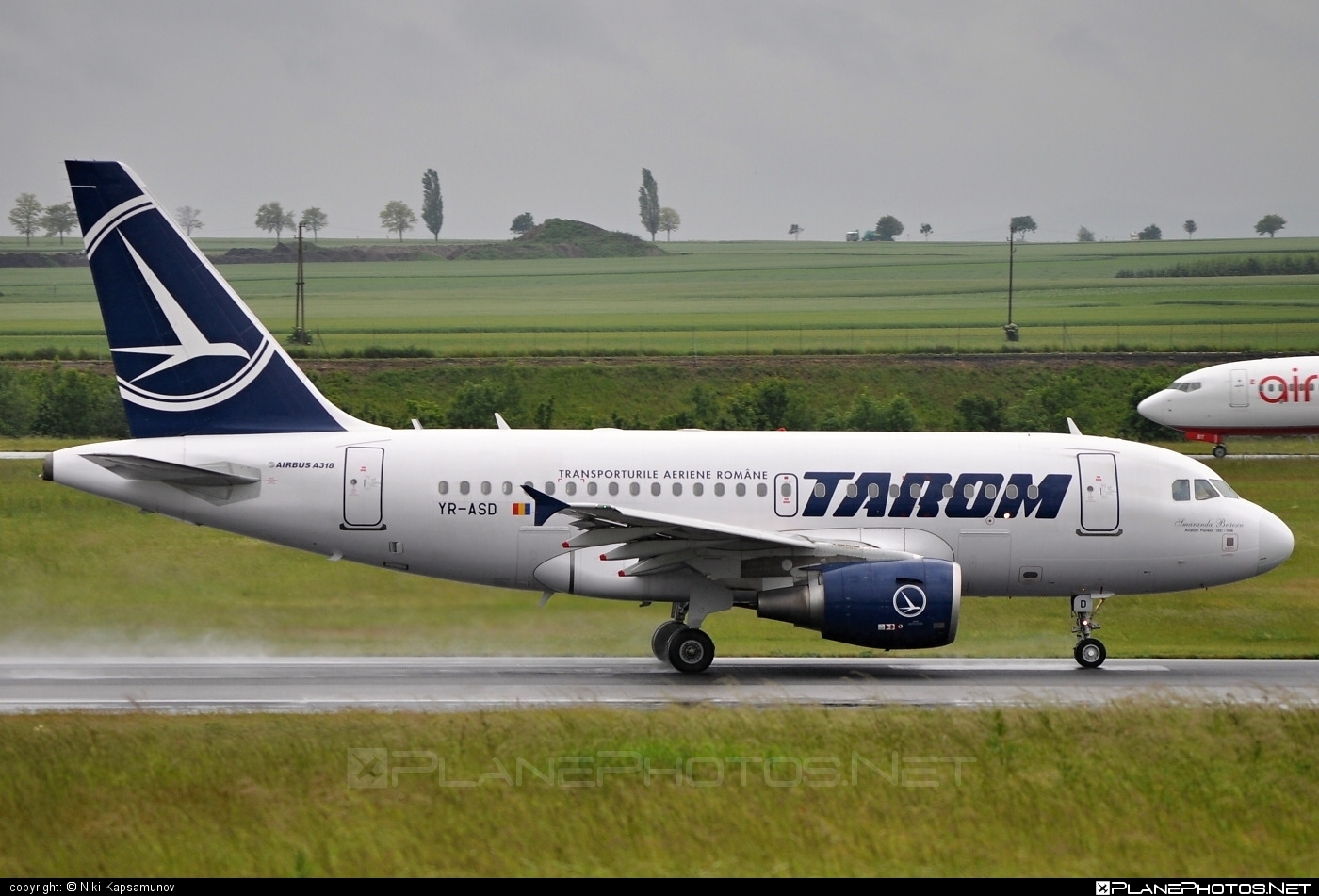Airbus A318-111 - YR-ASD operated by Tarom #a318 #a320family #airbus #airbus318