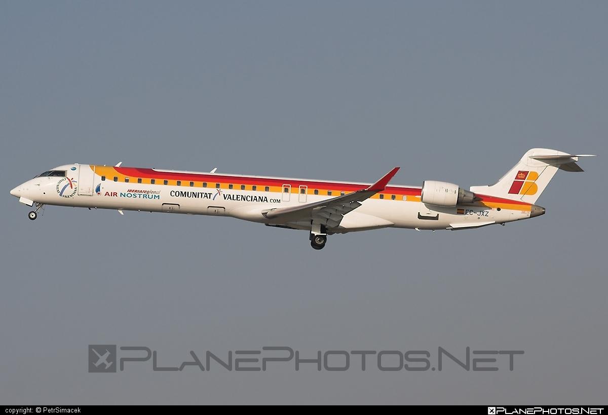 Bombardier CRJ900 - EC-JXZ operated by Iberia Regional (Air Nostrum) #airnostrum #bombardier #crj900 #iberia #iberiaregional