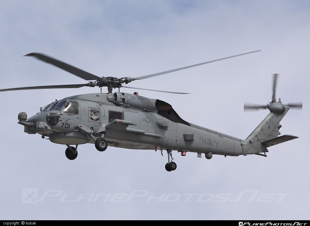 Sikorsky MH-60S Knighthawk - 166544 operated by US Navy (USN) #sikorsky