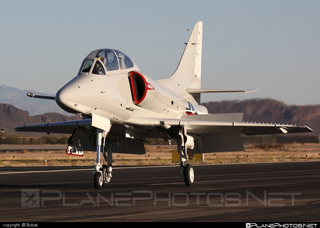 Douglas TA-4J Skyhawk - N518TA operated by Private operator #douglas