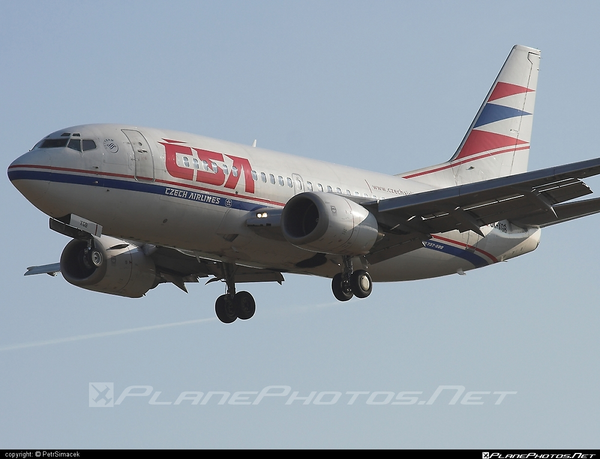Boeing 737-500 - OK-XGB operated by CSA Czech Airlines #b737 #boeing #boeing737 #csa #czechairlines