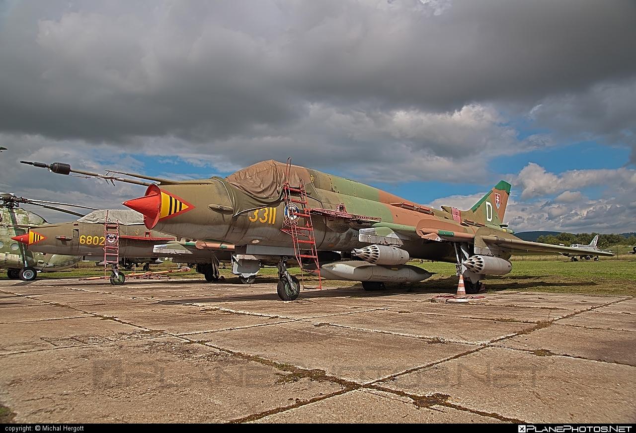 Sukhoi Su-22M4 - 3311 operated by Vzdušné sily OS SR (Slovak Air Force) #slovakairforce #sukhoi #vzdusnesilyossr