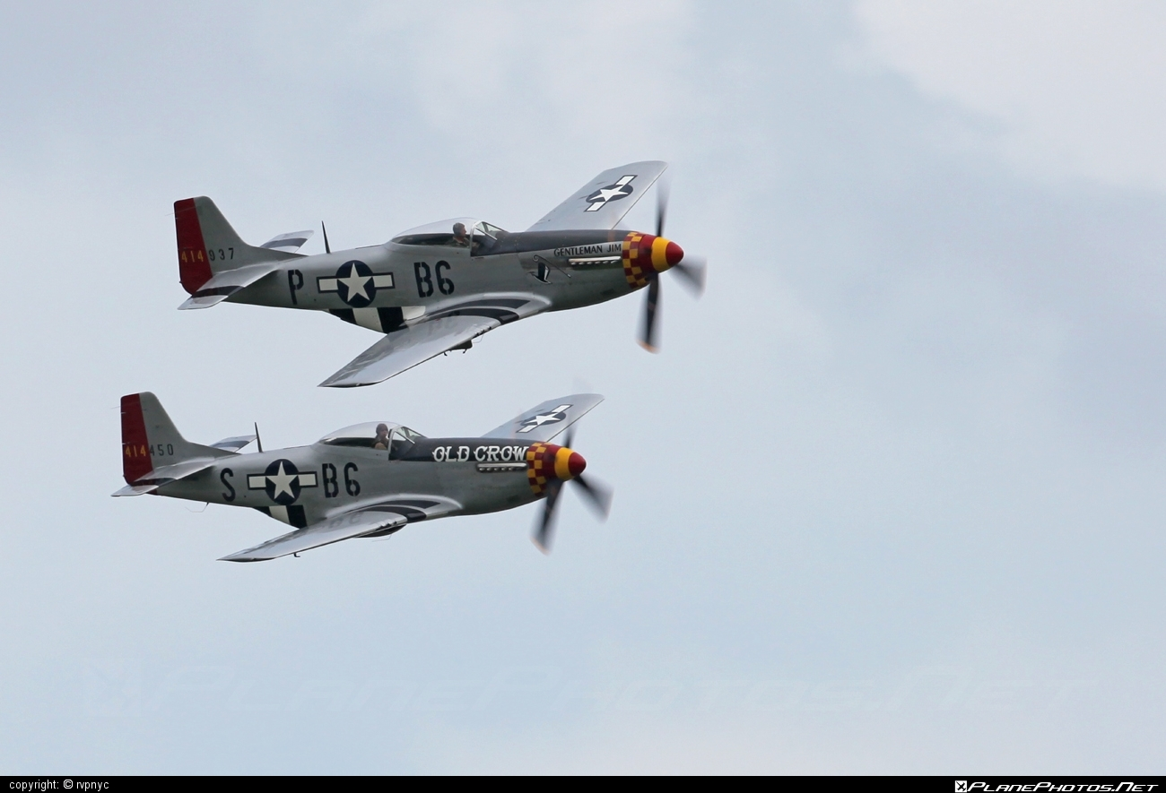 North American P-51D Mustang - N551J operated by Private operator #northamerican