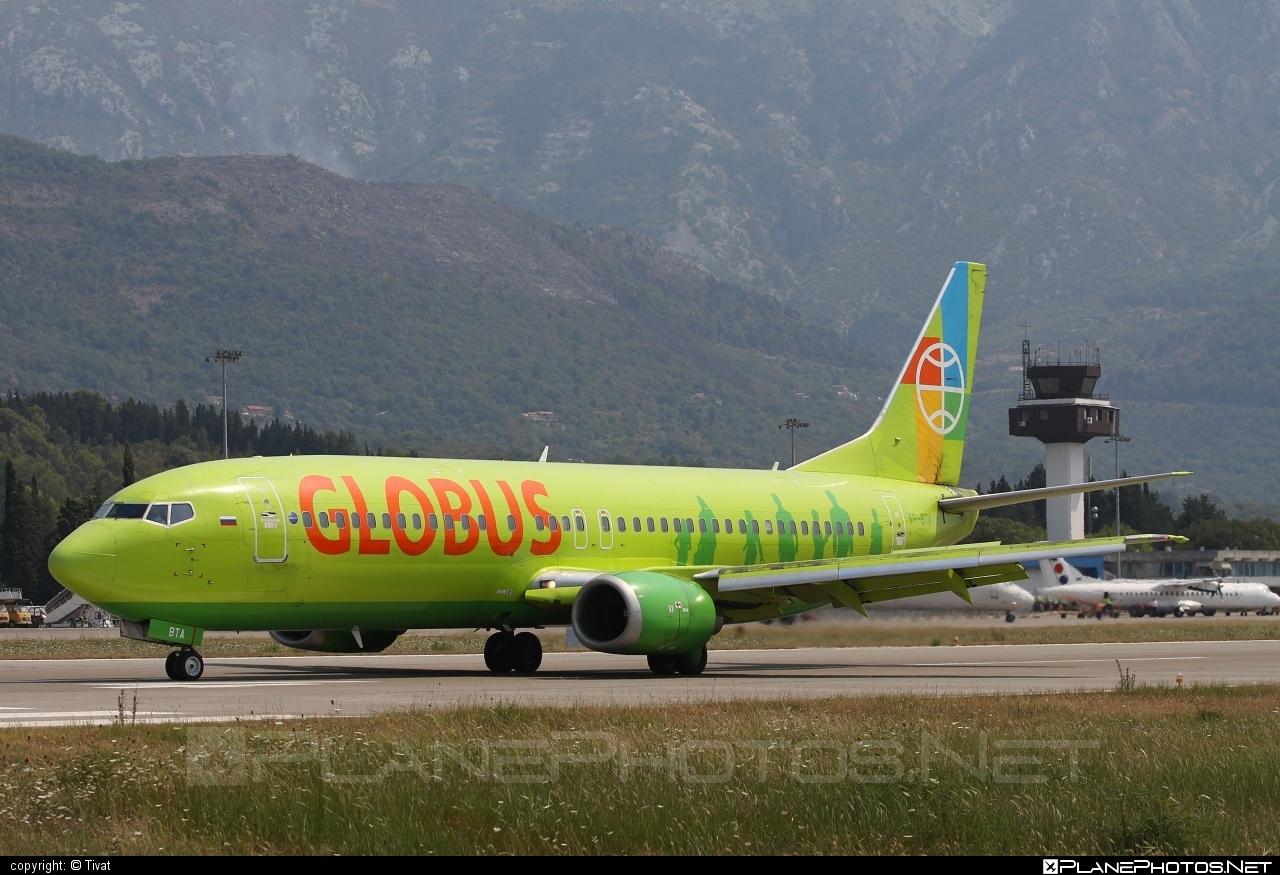 Boeing 737-400 - VP-BTA operated by Globus Airlines #b737 #boeing #boeing737