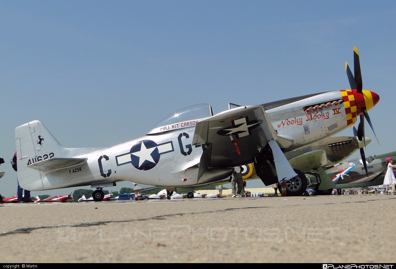 North American P-51D Mustang - F-AZSB operated by Private operator #northamerican