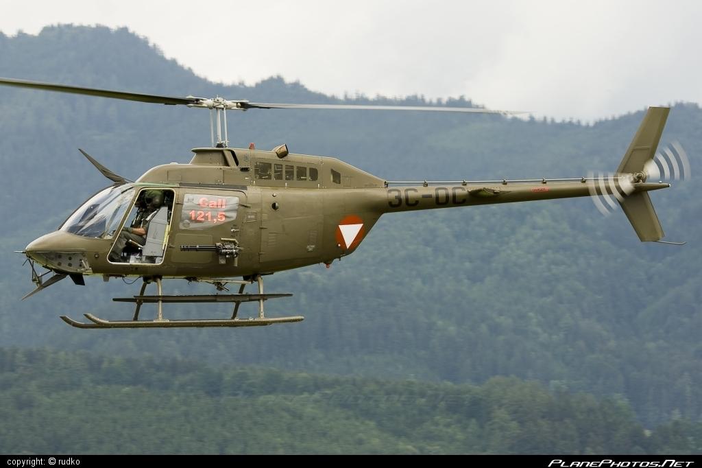 Bell OH-58B Kiowa - 3C-OC operated by Österreichische Luftstreitkräfte (Austrian Air Force) #austrianairforce #bell #bellhelicopters