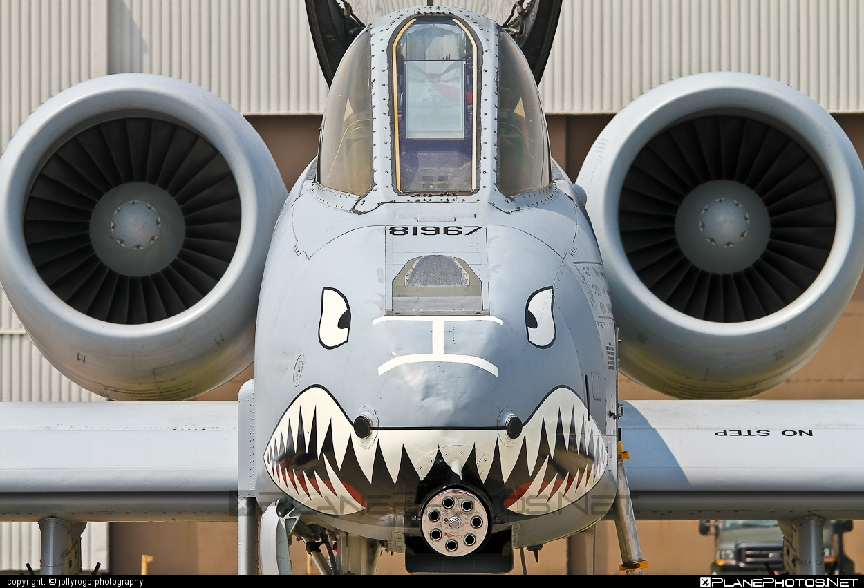 Fairchild A-10C Thunderbolt II - 81-0967 operated by US Air Force (USAF) #a10 #fairchild #thunderbolt #thunderboltii #usaf #usairforce #warthog