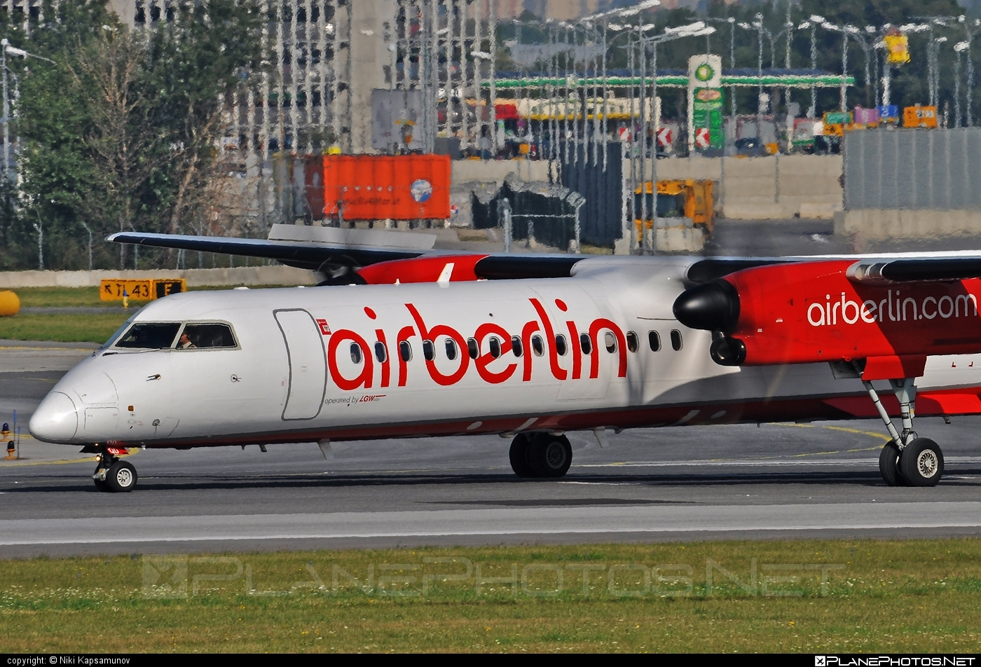Bombardier DHC-8-Q402 Dash 8 - D-ABQD operated by Air Berlin #airberlin #bombardier #dash8 #dhc8 #dhc8q402