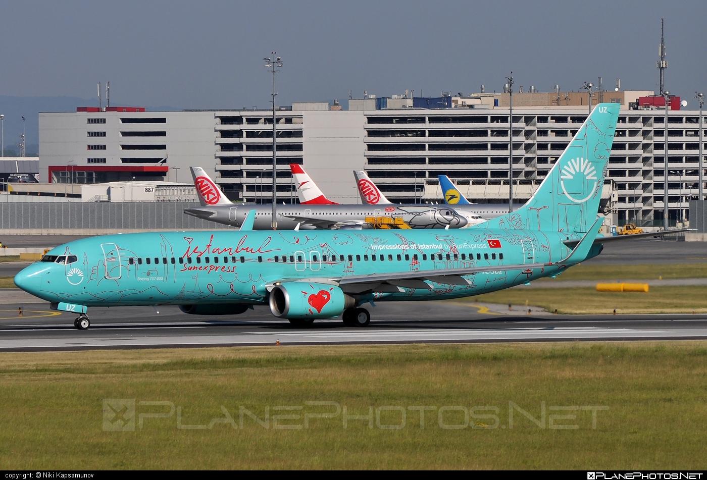 Boeing 737-800 - TC-SUZ operated by SunExpress #b737 #b737nextgen #b737ng #boeing #boeing737 #sunexpress