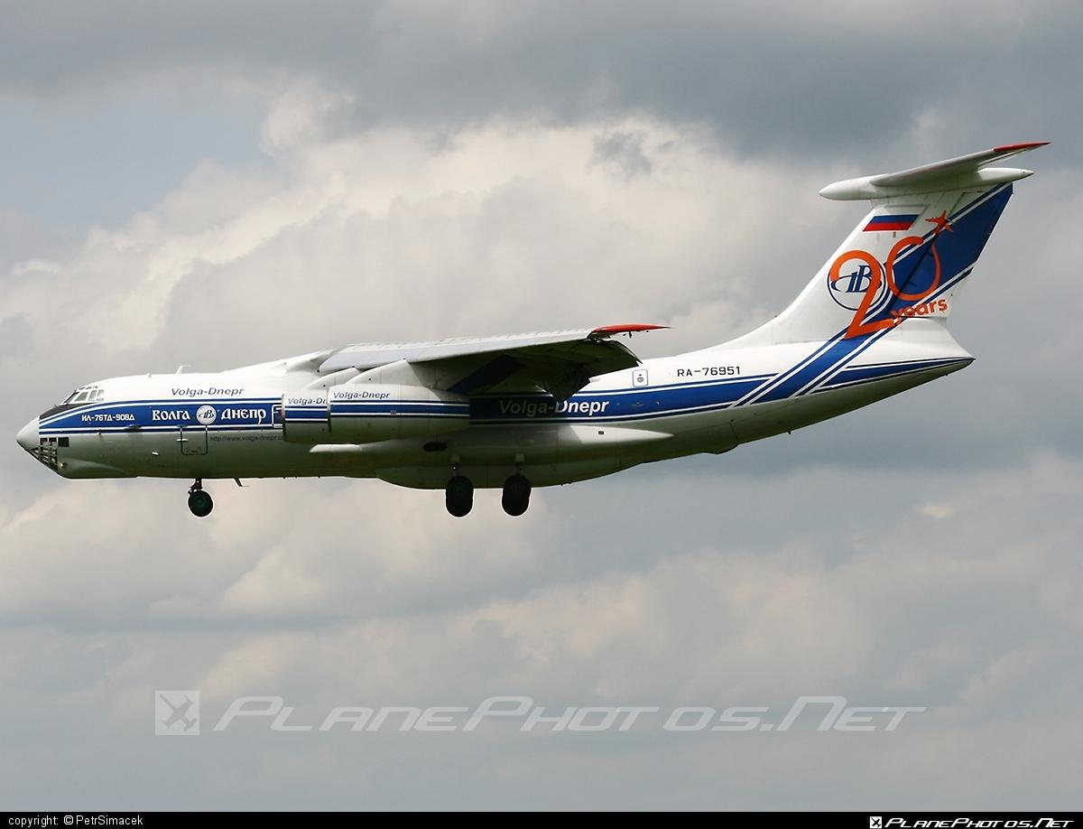 Ilyushin Il-76TD-90VD - RA-76951 operated by Volga Dnepr Airlines #il76 #il76td90vd #ilyushin