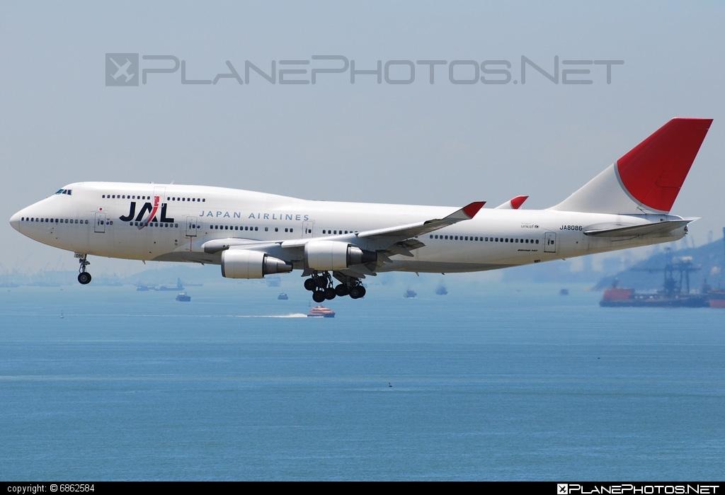 Boeing 747-400 - JA8086 operated by Japan Airlines (JAL) #b747 #boeing #boeing747 #jumbo