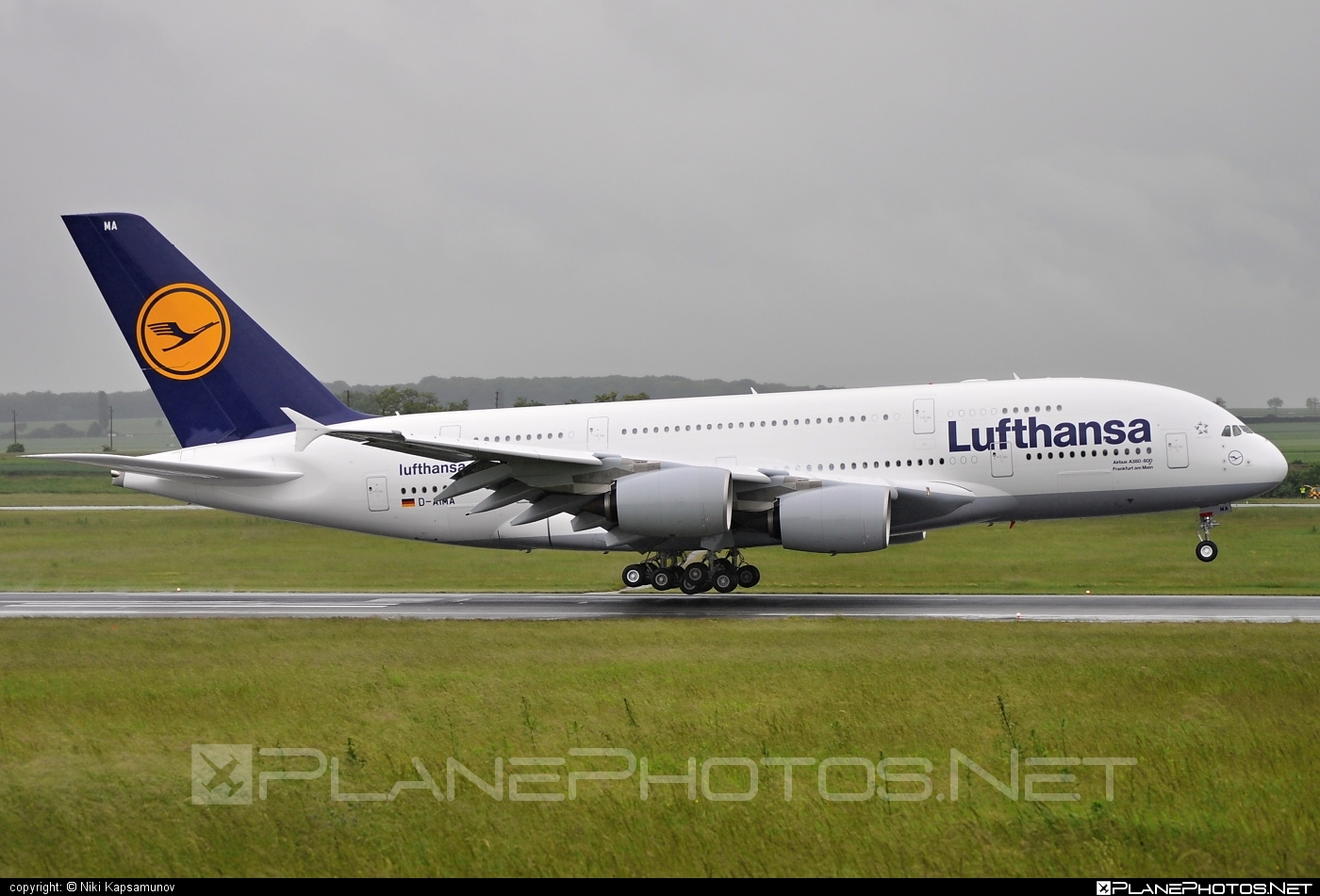 Airbus A380-841 - D-AIMA operated by Lufthansa #a380 #a380family #airbus #airbus380 #lufthansa