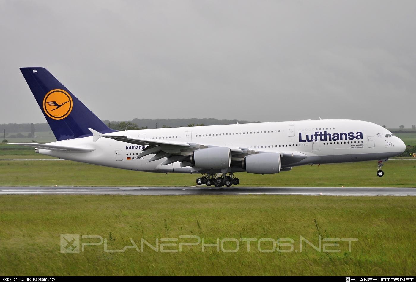 Lufthansa Airbus A380-841 - D-AIMA #a380 #a380family #airbus #airbus380 #lufthansa