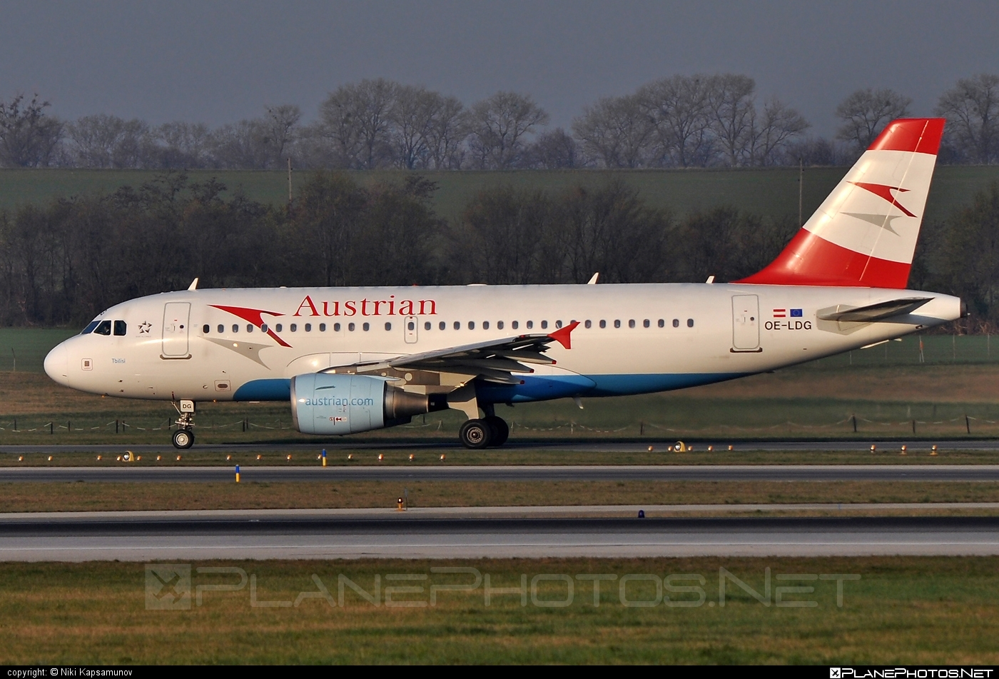 Airbus A319-112 - OE-LDG operated by Austrian Airlines #a319 #a320family #airbus #airbus319