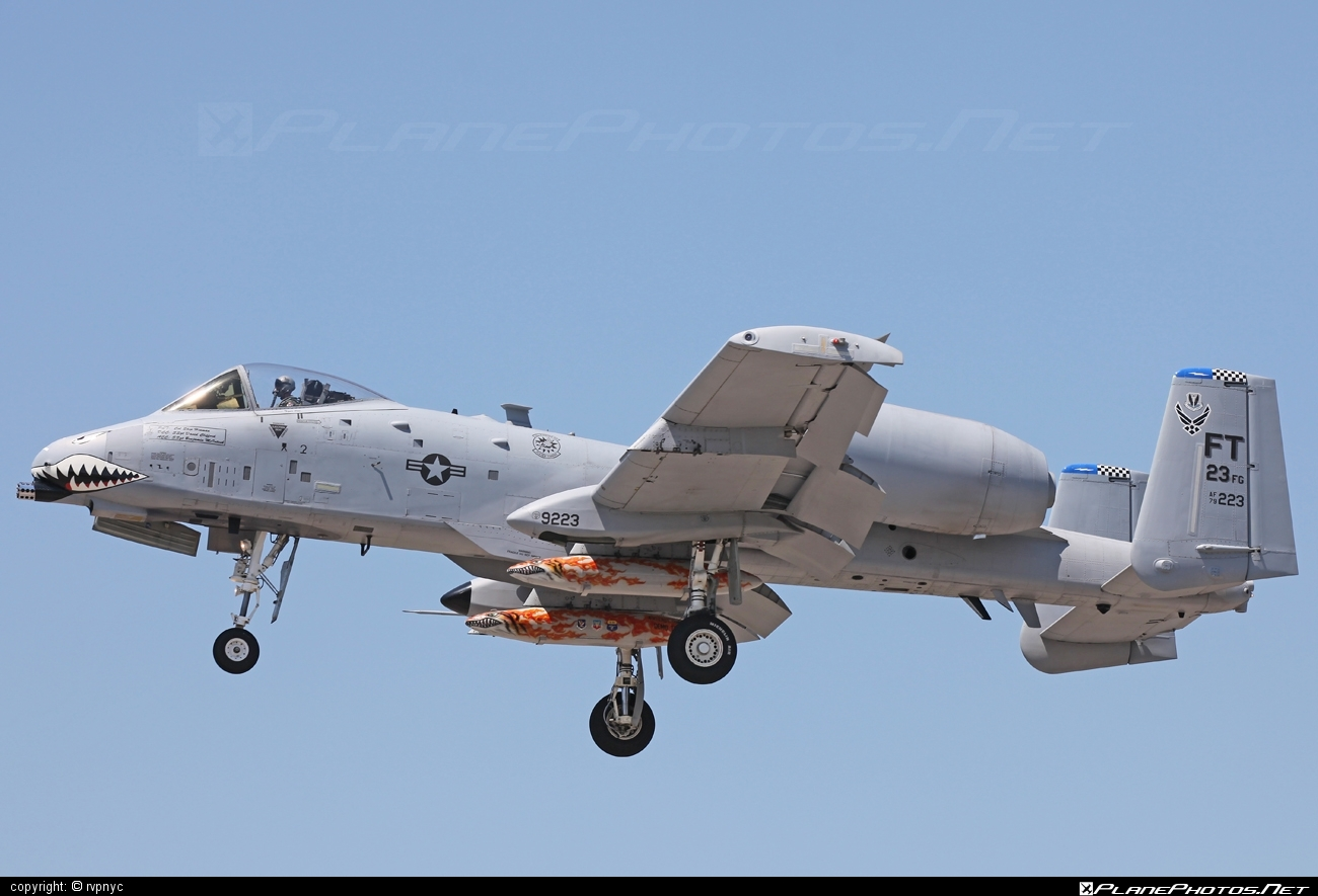 Fairchild A-10C Thunderbolt II - 79-0223 operated by US Air Force (USAF) #a10 #fairchild #thunderbolt #thunderboltii #usaf #usairforce #warthog