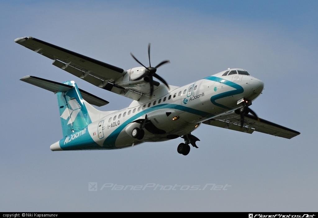 ATR 42-500 - I-ADLQ operated by Air Dolomiti #airdolomiti #atr #atr42 #atr42500