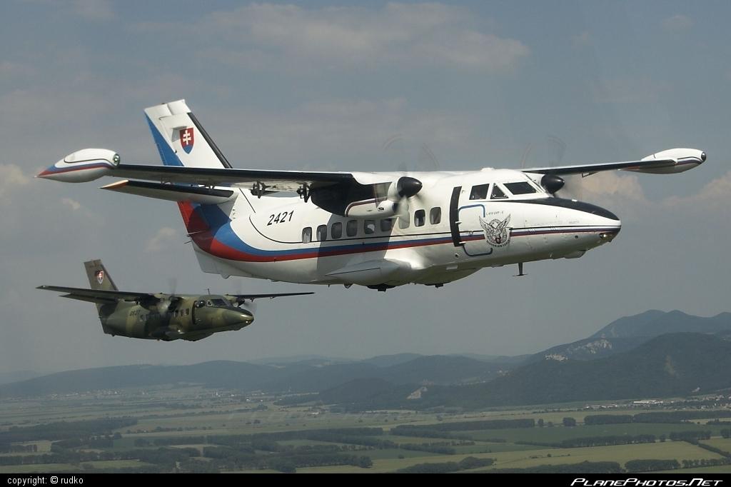 Let L-410UVP-E Turbolet - 2421 operated by Vzdušné sily OS SR (Slovak Air Force) #let #slovakairforce #vzdusnesilyossr