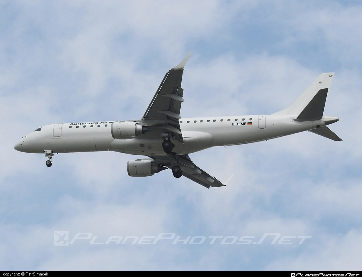 Embraer E195LR (ERJ-190-200LR) - D-AEMF operated by Augsburg Airways #e190 #e190200 #e190200lr #e195lr #embraer #embraer190200lr #embraer195 #embraer195lr