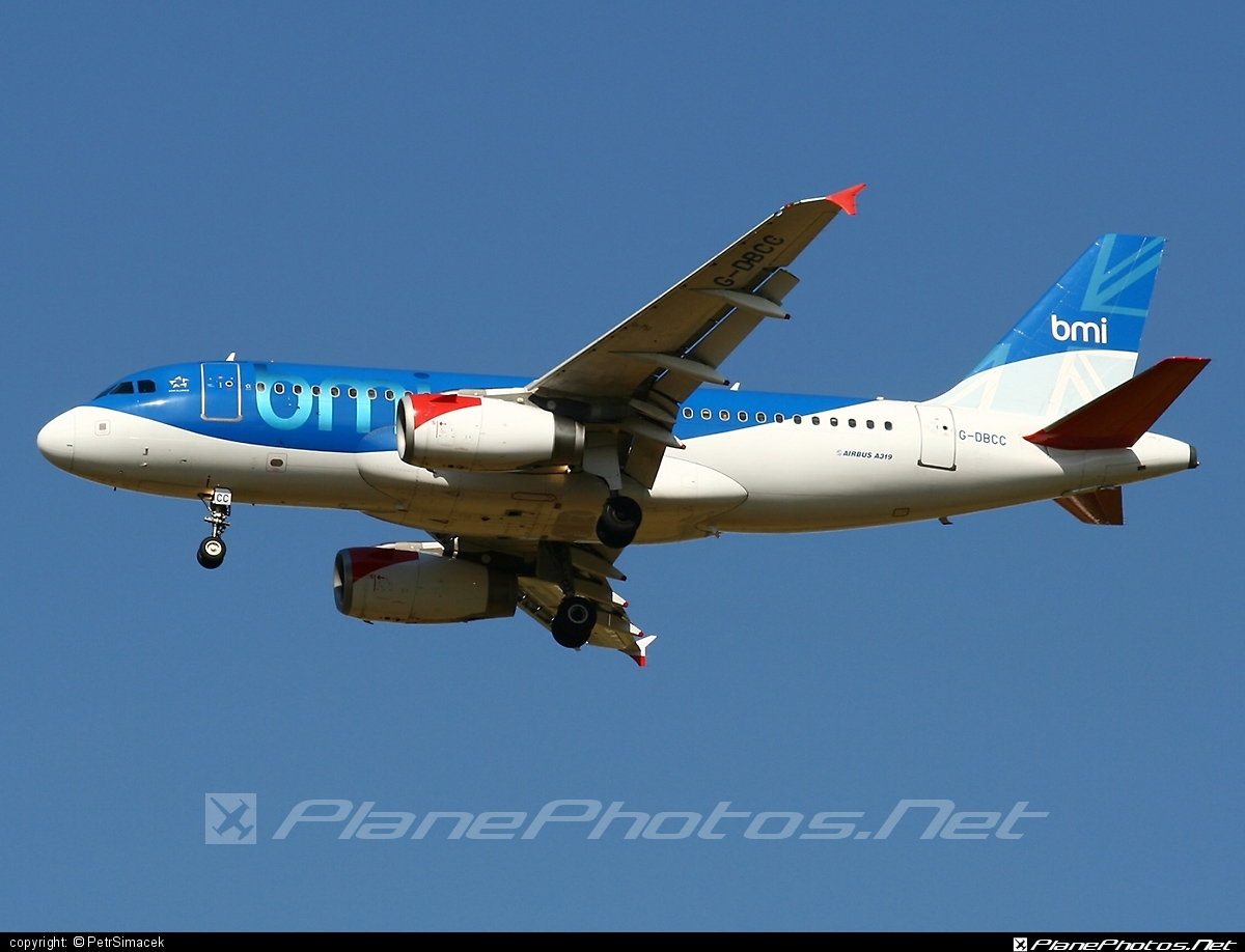 Airbus A319-131 - G-DBCC operated by bmi British Midland #a319 #a320family #airbus #airbus319