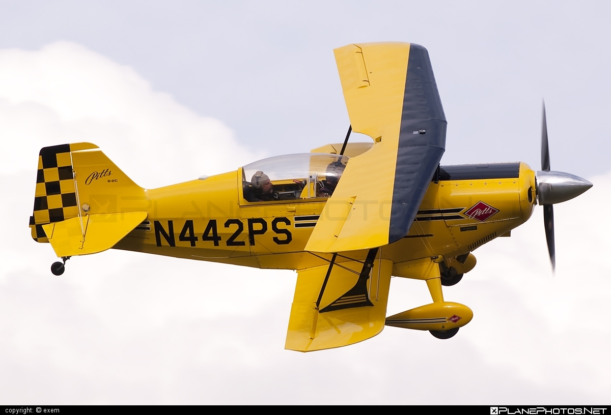 Aviat S-2C Pitts Special - N442PS operated by Private operator