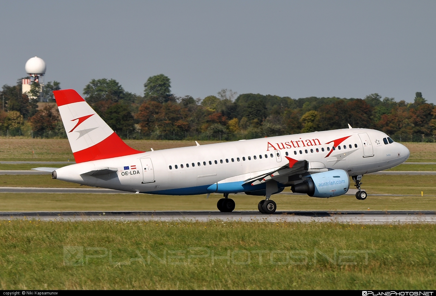 Airbus A319-112 - OE-LDA operated by Austrian Airlines #a319 #a320family #airbus #airbus319