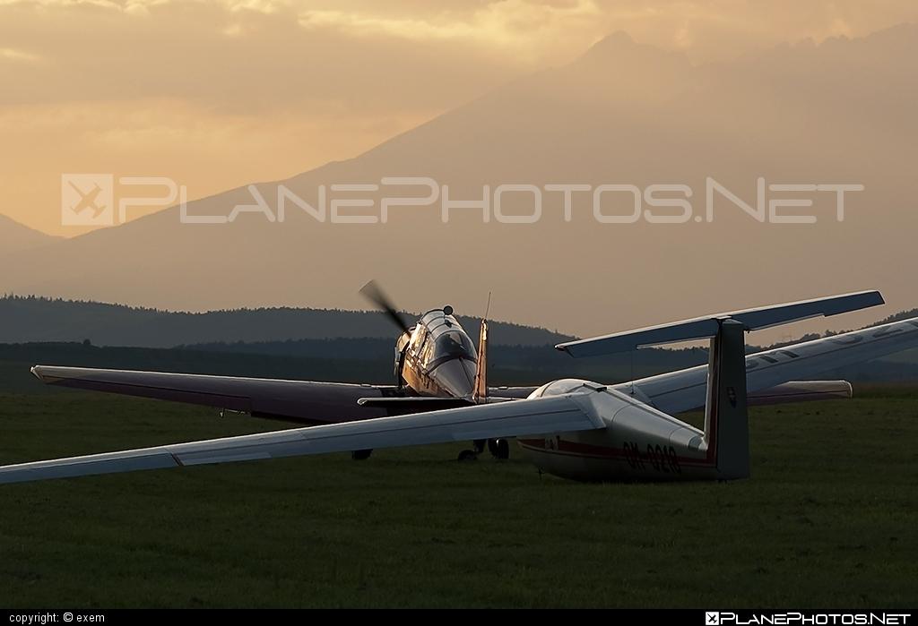 Let L-23 Super Blanik - OM-0218 operated by Aeroklub Spišská Nová Ves #LetL23SuperBlanik #l23superblanik #let