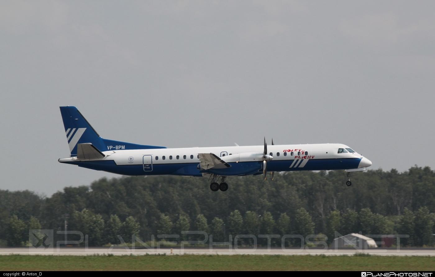 Saab 2000 - VP-BPM operated by Polet Flight #saab