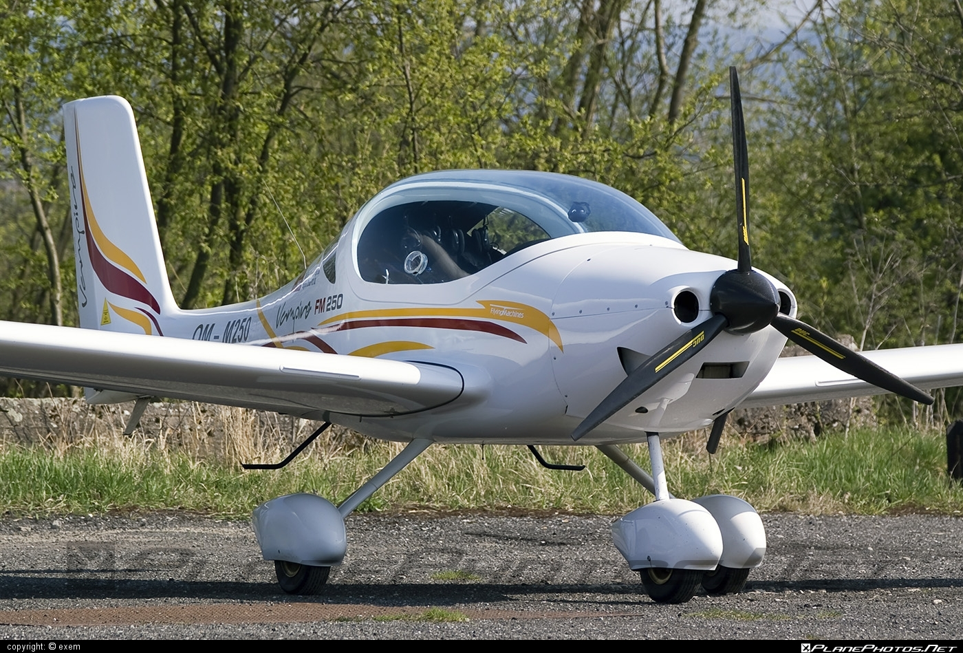 Flying Machines FM250 Vampire - OM-M250 operated by Private operator #flyingmachines